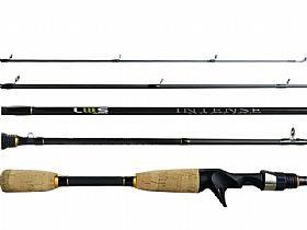Vara Lumis Rods Intense IM8 INC63101 4-10lb 6`3 (1,92m) - Carretilha (Inteiriça)