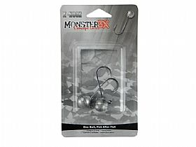Jig Head Monster 3x X-Hook - 5/0 13gr - 2UN